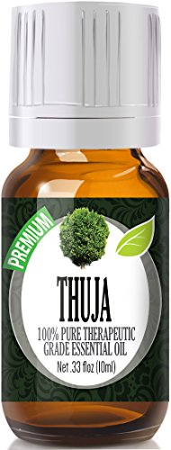Thuja 100% Pure, Best Therapeutic Grade Essential Oil - 10ml