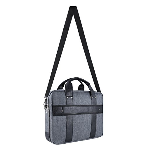 Chrono Protective Laptop/Tablet Shoulder Messenger Bag Carrying Case w/Handle For 13.3'' - 14'' Tablets, 2in1, Ultrabooks Netbooks by Vangoddy (Image #7)