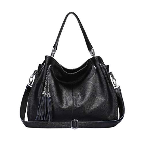 Franges Le Femme Pour Ethba Noir Size couleur Bandoulière Jaune Commuter Décontracté Travel À Sac Taille One wqwYf1I