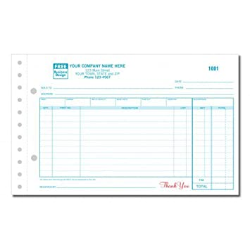AmazonCom  Small Auto Parts Order Form  Office Products