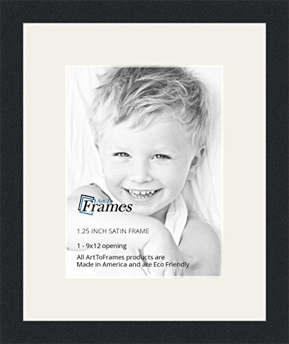 Amazon.com - ArtToFrames 9 x 12 Inch Opening Single Mat with a Satin ...