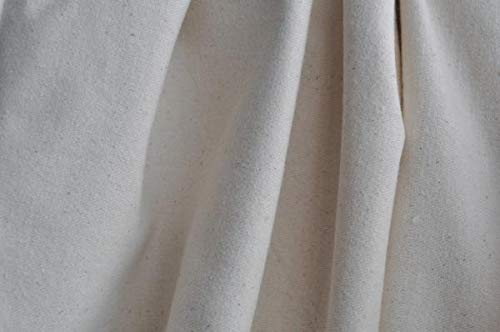 weight Flannel Fabric - Natural - By the Yard ()