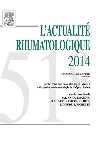 L'actualité rhumatologique 2014 (French - Elisabeth Brentano