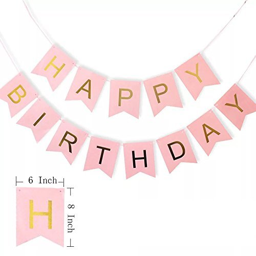 60th Birthday Decorations Party Supplies Balloons Rose Gold60th BannerTable Confetti Decorations60th For Womenuse Them