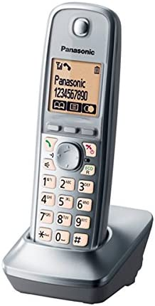 Panasonic KX-TGA661EXM - Teléfono inalámbrico digital supletorio (sin base emisora): Amazon.es: Electrónica