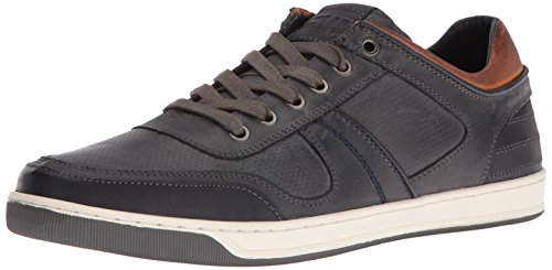 Steve Madden Mens Cantor Fashion Sneaker Grey Leather ODGqyNND