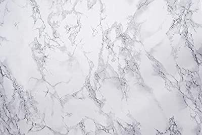 "DC Fix 346-0306 Decorative Self-Adhesive Film, Grey Marble, 17.71"" x 78"" Roll"