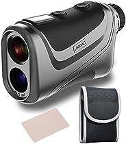 WELLRAY Golf Rangefinder, Laser range finder with Slope ,High Precision Flag Acquisition Distance, Pulse Vibra