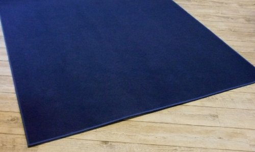 Kinderteppich dunkelblau  Trend Uni Teppich Joker dunkelblau, 145x200 cm: Amazon.de: Küche ...