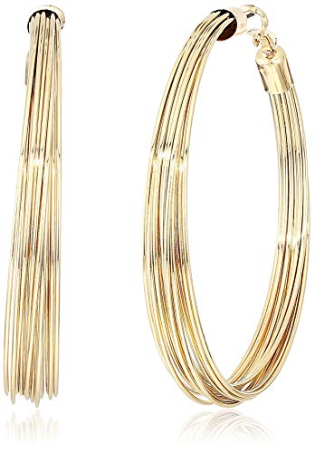 GUESS Women's Hoop Earrings, Gold, One - Womens Earring Guess