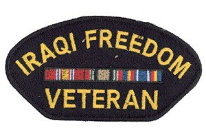 (Gift House Iraqi Freedom Veteran Patch)