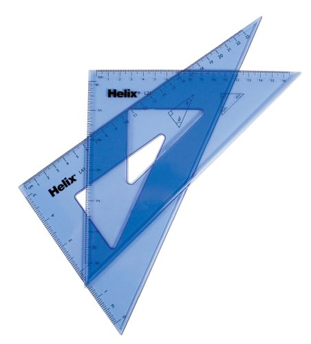 (Helix Student Triangles 2 Piece Set, Large (18311))