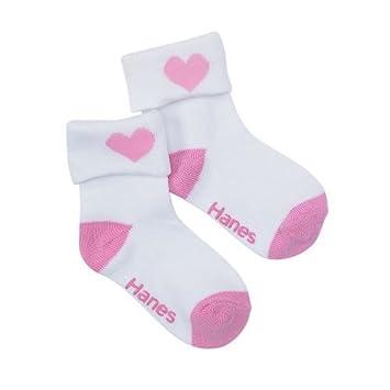 Best-Seller! Hanes Girls` Infant Toddler Ankle Socks
