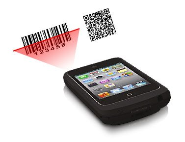 Linea-pro 4 1D/2D barcode and 3-Track magnetic stripe reader for iPod Touch 4 (Ipod Touch 4 included) by IDScan.net (Image #2)