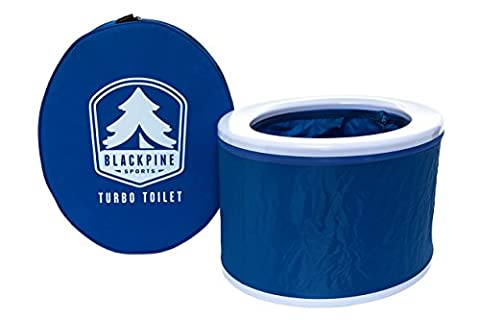 Blackpine Sports Turbo Toilet, Blue