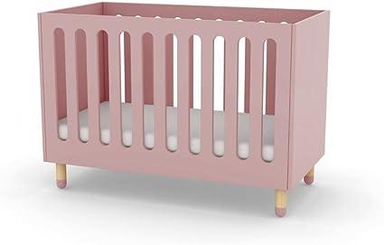 Alfred & Compagnie – Cama con somier cuna 60 x 120 Flexa rosa ...