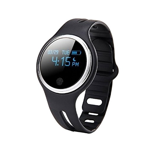 Cewaal Hanbaili E07 Fitness Tracker Smartwatch, GPS Activity Calorie Sleep Monitor Waterproof Bluetooth Wristband for