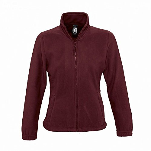 In Bordeaux Pile Felpa Donna Sols Zip Con qv4wC