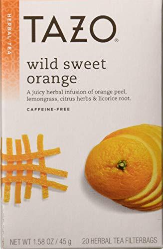 (TAZO Tea Sweet Orange, 20 BG, PK- 6)