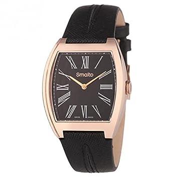 36d72275c8 SMALTO SMALTO Montre Bracelet Cuir Goia Femme: Amazon.fr: High-tech