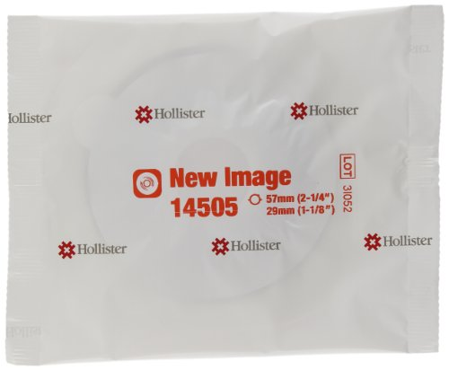 5014505 - Hollister Inc New Image 2-Piece Precut Convex FlexWear (Standard Wear) Skin Barrier 1-1/8