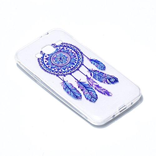 ZHOUZEKAI Samsung Galaxy J310 (2016) Case, Súper Delgado Transparente TPU Patrón de personalidad creativa Gel Cubierta De Suave Silicona Funda Tapa Caja del teléfono ,para Samsung Galaxy JJ310 (2016)+ image-4