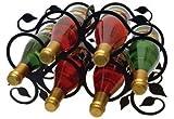 14.5 Inch Leaf Wine Rack