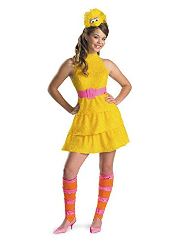 Sesame Street Big Bird Costumes (Big Bird Tween Costume - Large)