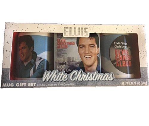 Presley Cocoa - Elvis Presley Hot Cocoa Love Me Tender 2 Mug Gift Set