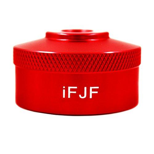 (iFJF Aluminum Red Extended Run Gas Cap Adapter for Honda Generator EU2000i EU20i EU1000i EU10i fit 1/4