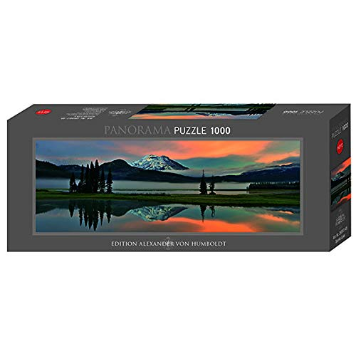 Sparks Lake - 1000pc Panoramic Jigsaw Puzzle by Heye
