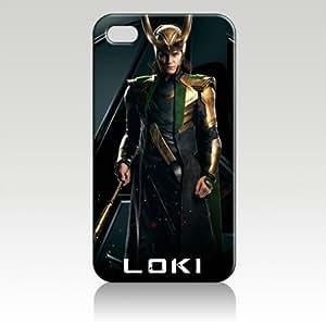Tom Hiddleston Loki Hard Case Skin for Iphone 6 4.7 Iphone4 At&t Sprint Verizon Retail Packing.