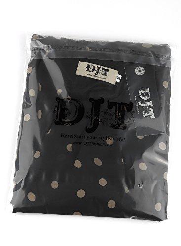 Shirt Imprime Chemisier Djt cafe doux en Tops Femme Manches Noir longues T Blouse tulle 0r0qFEW