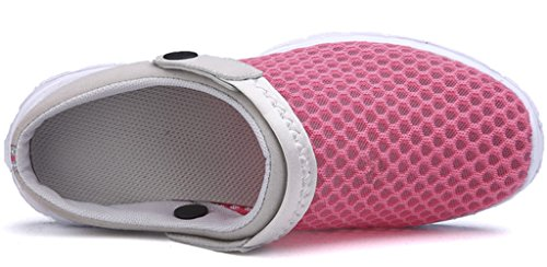 Rose Sandalen Frauen Rutsche Clogs Männer Eagsouni Schuhe Slip Größe Mule Komfort Lässige On Zz7xqw1