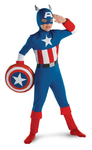 Captain America Classic - Size: Child (Captain America New Costume Marvel Now)