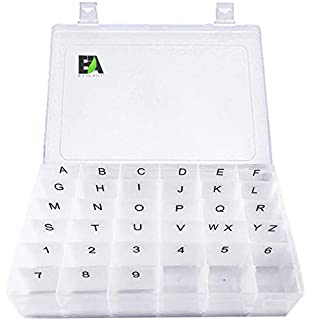 Amazon Com White Plastic Letter Set For Changeable Felt Letter