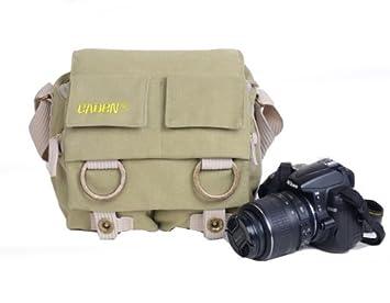 Pisen multi-función de lona para cámara réflex Digital bolsa de ...