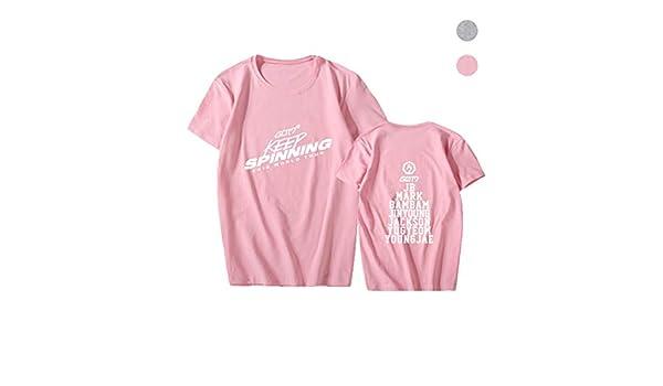 Adidase Camiseta KPOP GOT7, Camisetas GOT7 Keep Spinning 2019 ...