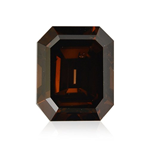 Diamond Radiant Loose Diamonds (0.52Cts Fancy Red Brown Loose Diamond Natural Color Radiant Cut GIA)