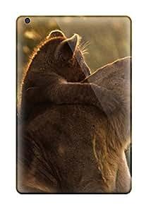 Premium [Iqtoksp1RhdLh]artistic Lion Hug Case For Ipad Mini/mini 2- Eco-friendly Packaging