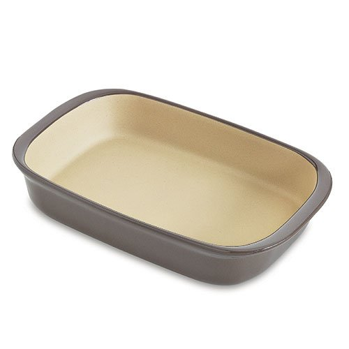 Pampered Chef Large Rectangular Baker Graystone 1423