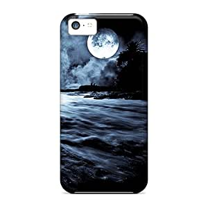 Perfect Fit IdW2662wLFj Dark Night Case For Iphone - 5c