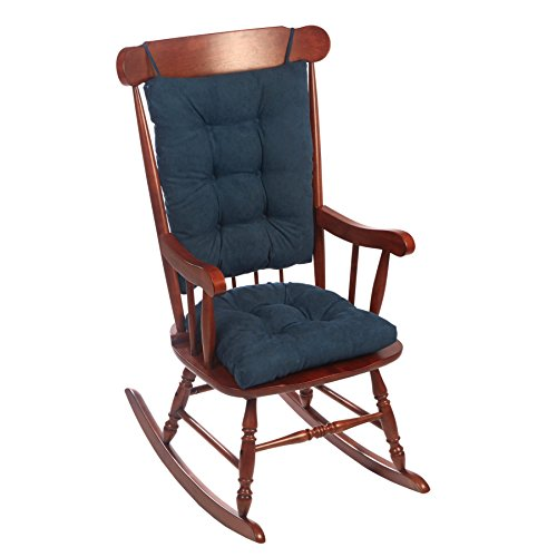 - Klear Vu Twillo Overstuffed No Slip Rocking Chair Pad Set, Seat and Seatback Cushions, 17