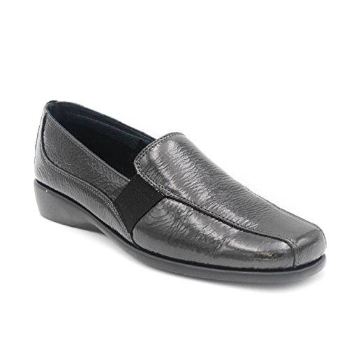 Loafer Women's Anthracite Grey Flats Grunland A5YFqBx