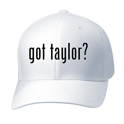 BH Cool Designs Got Taylor? - Baseball Hat Cap Adult, White, Large/X-Large (Swift Cap Top)