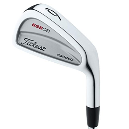 Titleist 695 CB Forged Iron Set 4-PW Rifle 6.0 Steel Stiff Right Handed 38.5 (Forged Cb Irons)