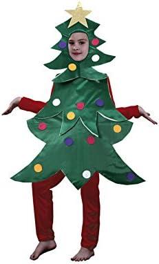 Disfraz de Árbol de Navidad en varias tallas para niños: Amazon.es ...