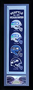 """NFL Legends Never Die Team Heritage Banner with Photo, Team Colors, 15"""" x 42"""""""