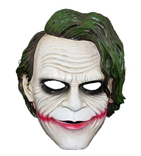 QueenA - Batman Clown Resin Mask - Character Mask, Masquerade Mask, Halloween Masquerade, Carnival, Christmas, Easter, Party Masks, Masks Collection ()