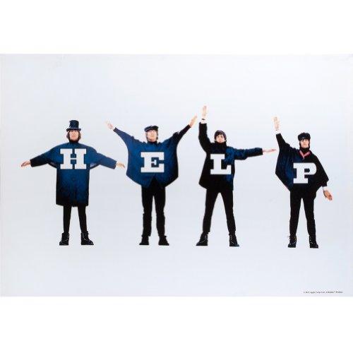 The Beatles - Help! Album Cover Medium Canvas Art